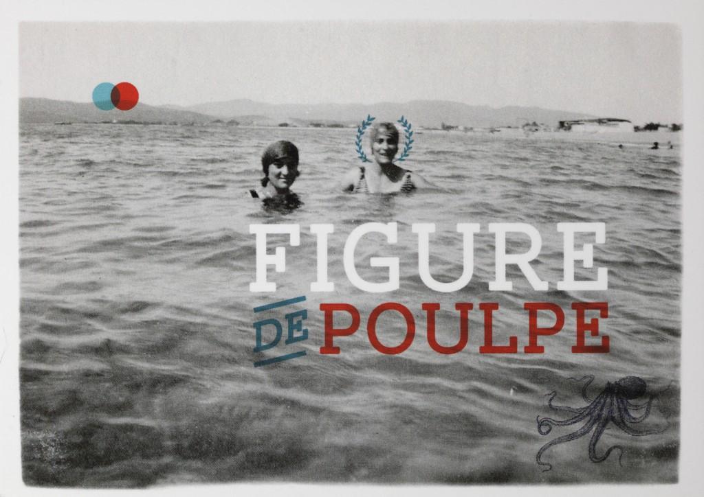 SUD CORNER - Carte postale Figure de poulpe